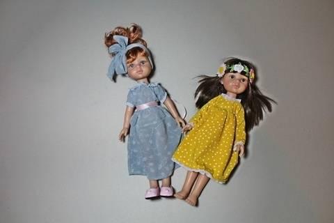 PAOLA Puppenkleid 30cm und 50cm  Steh Puppen bei Makerist sofort runterladen