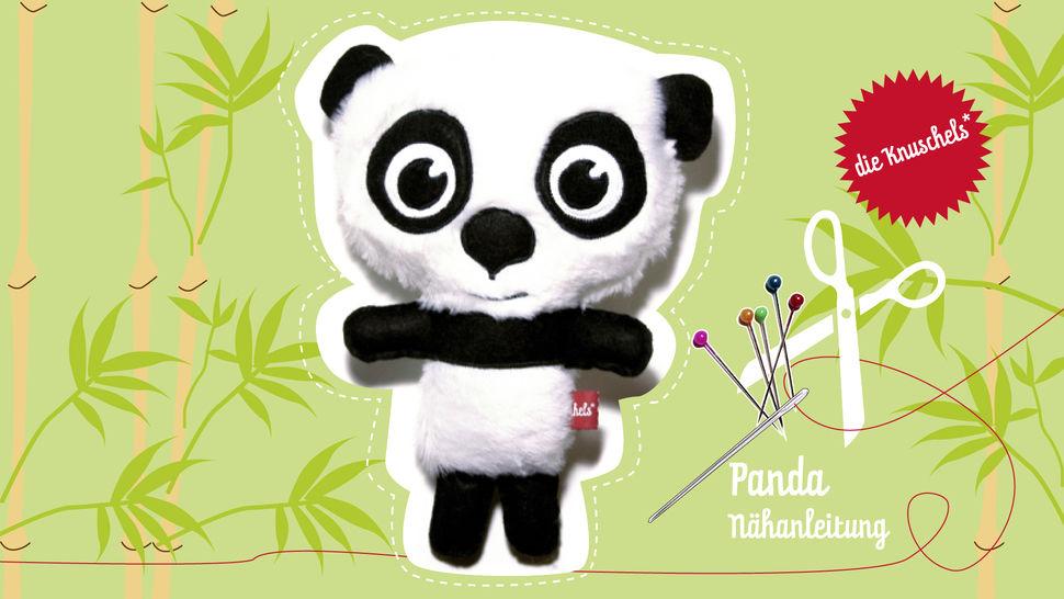Panda Nähanleitung und Schnittmuster