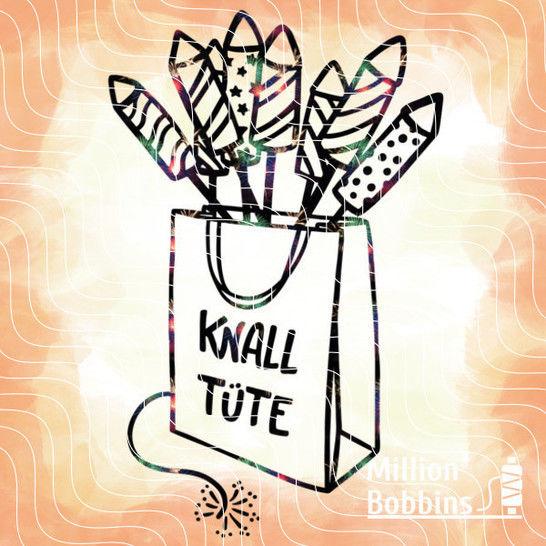 Plottdesign 'Knalltüte' bei Makerist sofort runterladen