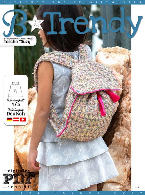 Tasche SUZY Nähanleitung + Schnitt bei Makerist sofort runterladen