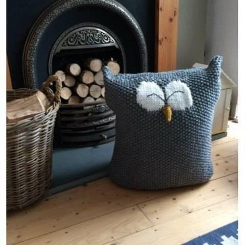 Download Owl Floor Cushion immediately at Makerist