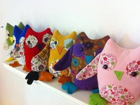 Download 2-in-1 Owl Puppet and Plushie Sewing Pattern immediately at Makerist