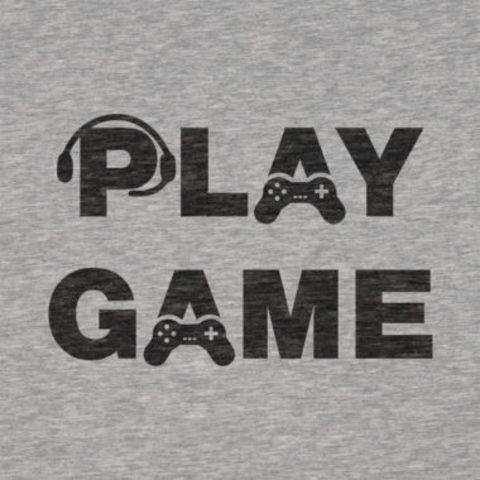 "Plotterdatei ""PLAY"" & ""GAME"" für Shirts [dxf, svg] bei Makerist sofort runterladen"
