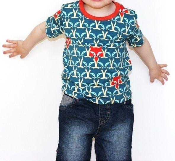 "eBook Kindershirt ""Cami"" Gr. 80-152 Schnittmuster und Nähanleitung - Nähanleitungen bei Makerist sofort runterladen"