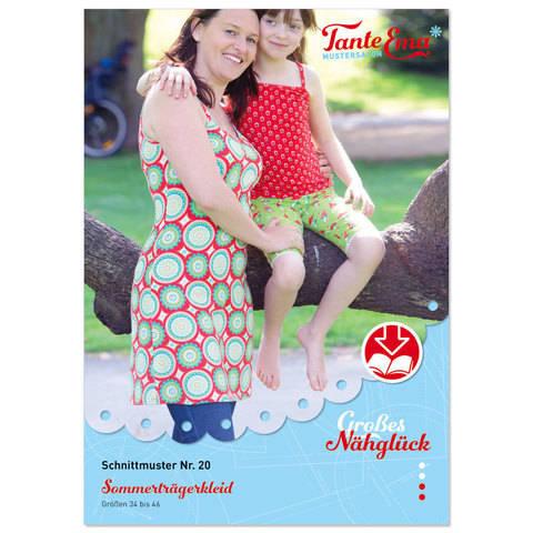 Trägerkleid für den Sommer in den Größen: 34–46, Nähanleitung und Schnittmuster bei Makerist sofort runterladen