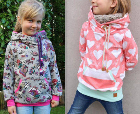 Download Hoodie mini JOLINE Size DEU 74/80-146/152 eq. 9 mon–11 yrs  immediately at Makerist