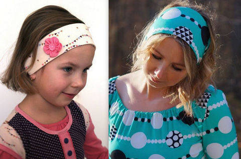 Download EBook Hair band NILA incl. Tutorial FLOWER immediately at Makerist