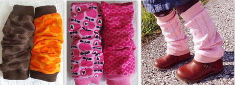 Download eBook Triple Cuffs (Leg warmers) Size DEU 86-98 to 158-170 (S) UK/US 24month-S immediately at Makerist