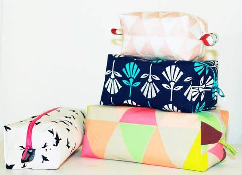 Kosmetiktaschen TRILOGIE & Stifteetui bei Makerist sofort runterladen