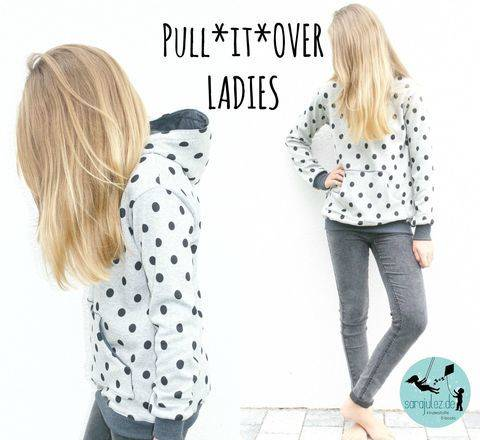 Pull*it*Over Ladies Hoodie/Pullover Gr. 32-50 bei Makerist sofort runterladen