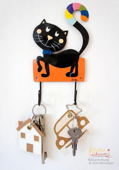 Fröhliche Schlüsselband-Anhänger  - Nähanleitungen bei Makerist sofort runterladen