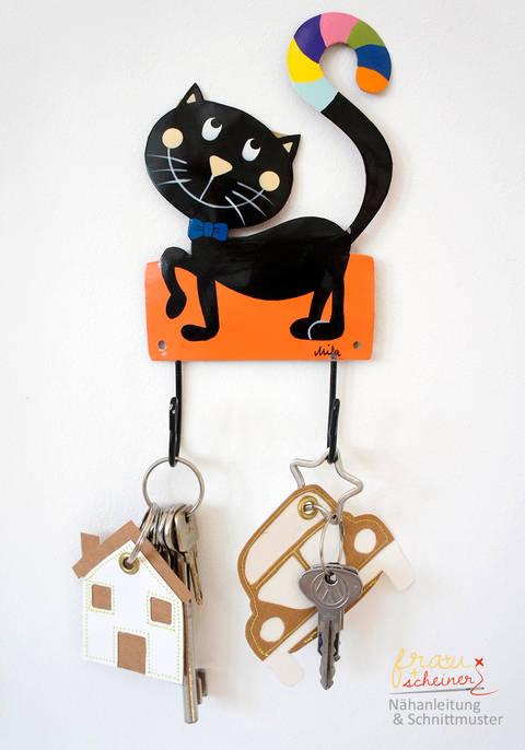 Fröhliche Schlüsselband-Anhänger  bei Makerist sofort runterladen