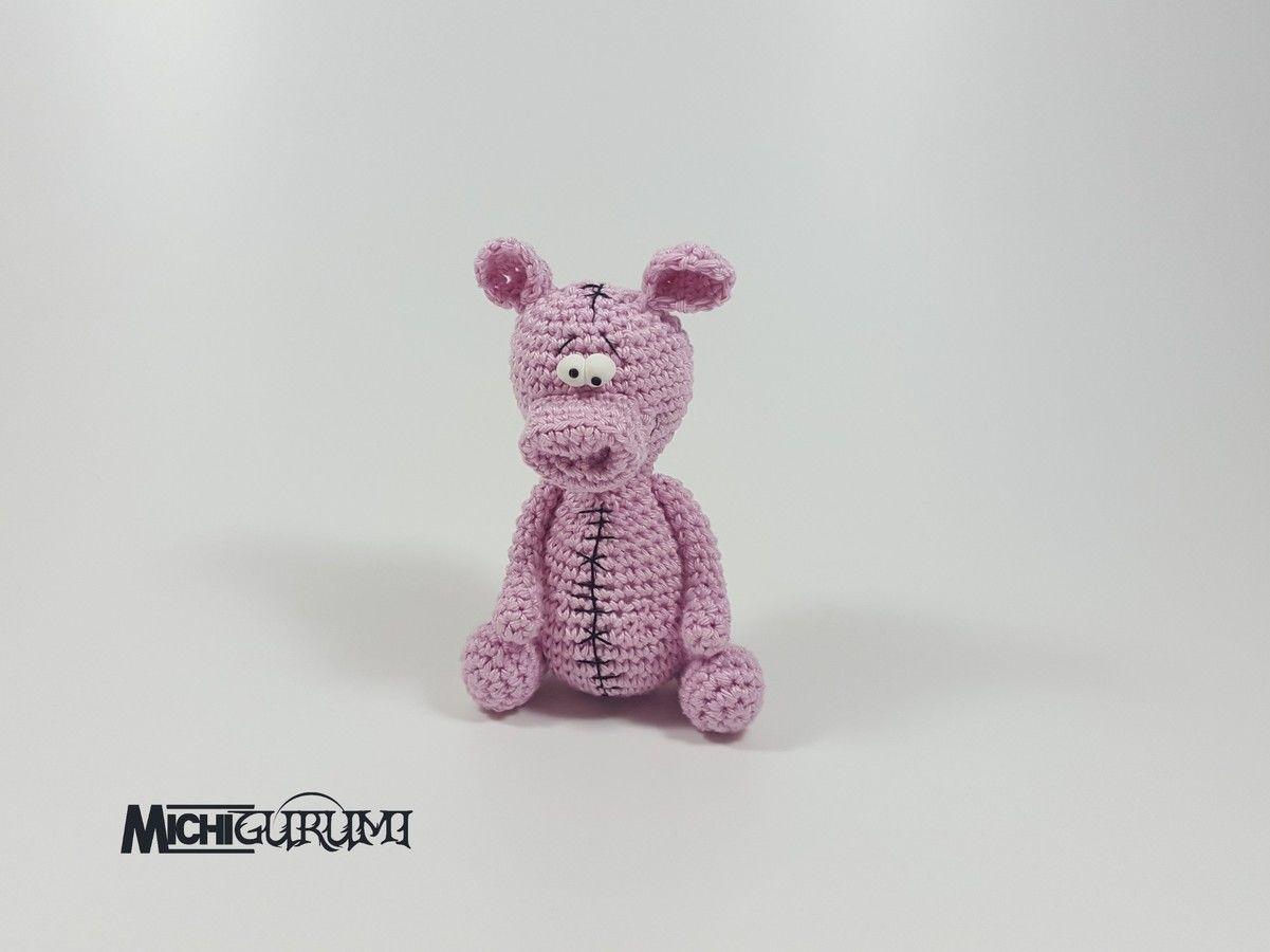 Häkelanleitung: Mini - Schwein