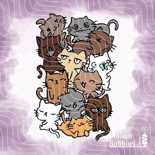 Plottdesign 'Catlover' bei Makerist sofort runterladen