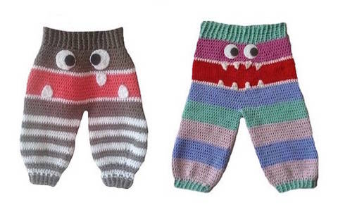 "Download E-Book ""Monster Trousers"" 0-9 month immediately at Makerist"