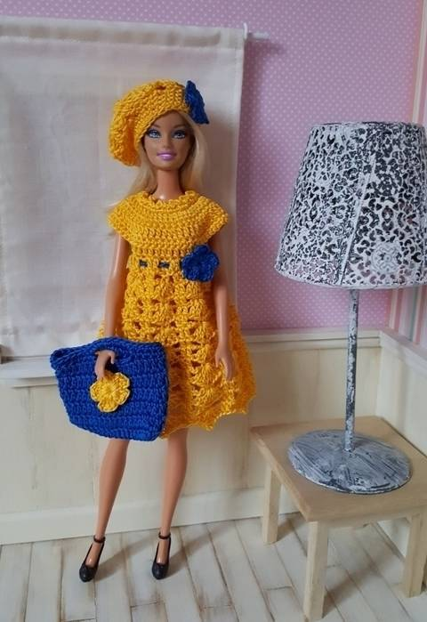 """Download """"Jeanne"""" for Barbie doll immediately at Makerist"""