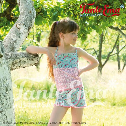 Kinder-Hotpants in den Größen: 98–128, Nähanleitung und Schnittmuster bei Makerist sofort runterladen