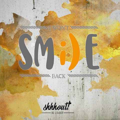 WON'T SMILE BACK - Plotterdatei bei Makerist sofort runterladen