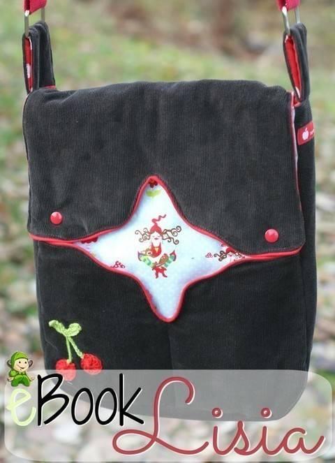 Ebook Tasche Lisia, Nähanleitung, Schnitt bei Makerist sofort runterladen