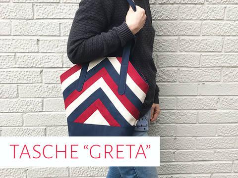 """Handtasche """"Greta"""" bei Makerist sofort runterladen"""