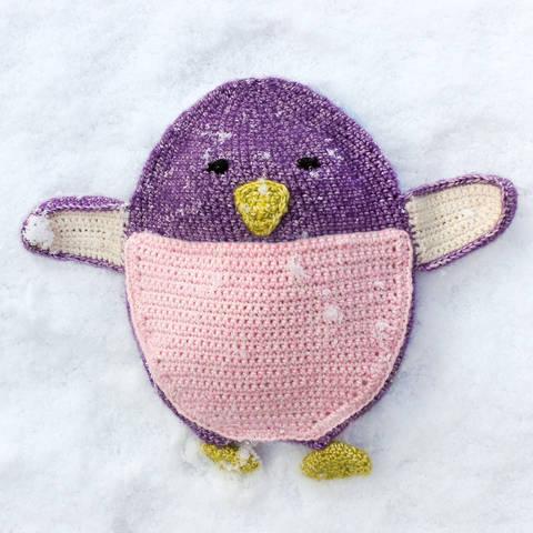 Wärmekissen und Schmusetuch Pippa Pinguin - Häkelanleitung bei Makerist sofort runterladen