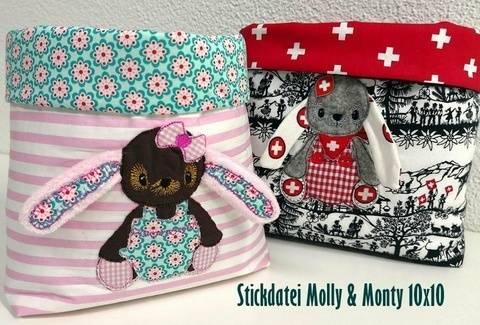 Molly & Monty 10x10 bei Makerist sofort runterladen