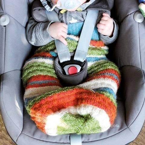 Pucksack/Schlafsack für Neugeborene und Babys stricken bei Makerist sofort runterladen