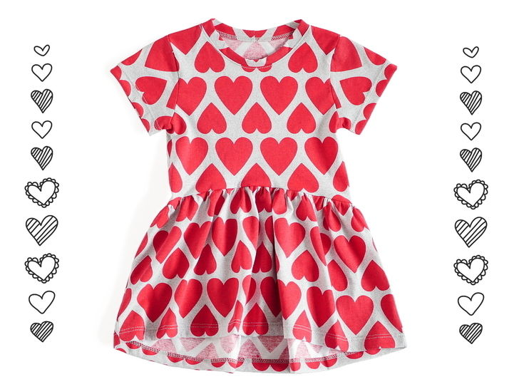 Download Dress with shorter front and longer back - PDF sewing pattern  immediately at Makerist