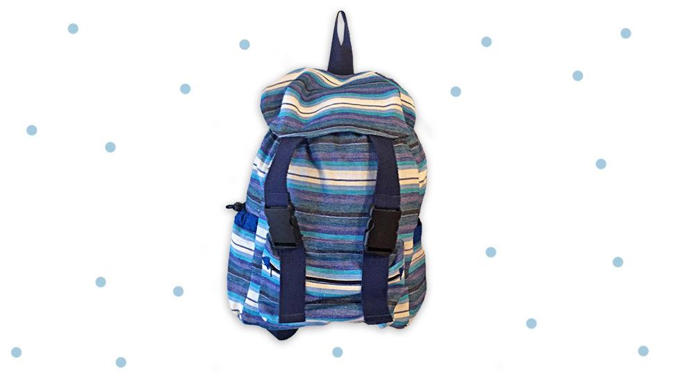 Rucksack No. 2 Mini für Kinder im Grundschulalter - Nähanleitungen bei Makerist sofort runterladen