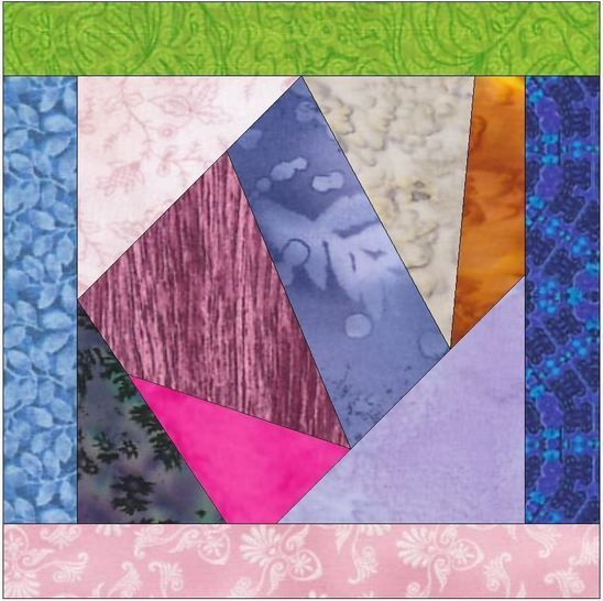 crazy patch quilt block patterns