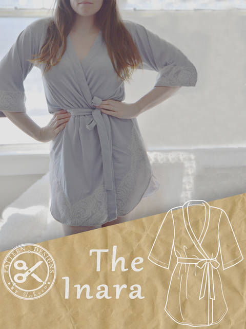 Download The Inara: A women's Robe PDF Sewing Pattern immediately at Makerist