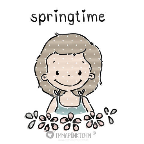 emmapünktchen ® - lotta springtime plottdesign bei Makerist sofort runterladen