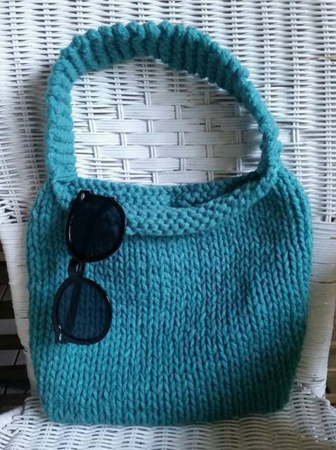Download Knitted Bag - Knitting Pattern immediately at Makerist
