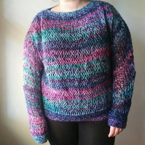 Download Knitted Carnival Jumper - Knitting Pattern immediately at Makerist