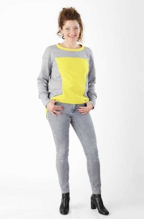 Télécharger Shirt Sue - Patron de couture et instruction en Anglais et en Allemand tout de suite sur Makerist