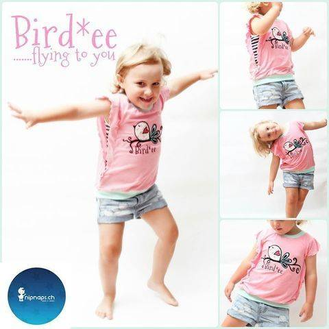 Download Ebook Bird*ee Top, detailed sewing instructions and pattern for kids & teens immediately at Makerist