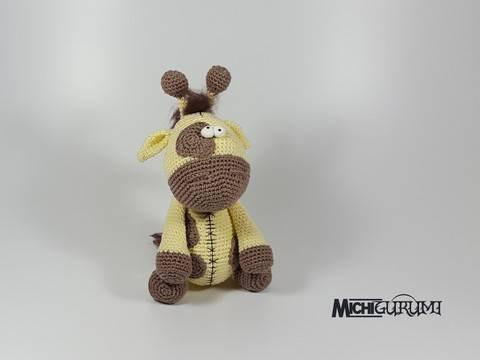 Häkelanleitung: Giraffe bei Makerist sofort runterladen