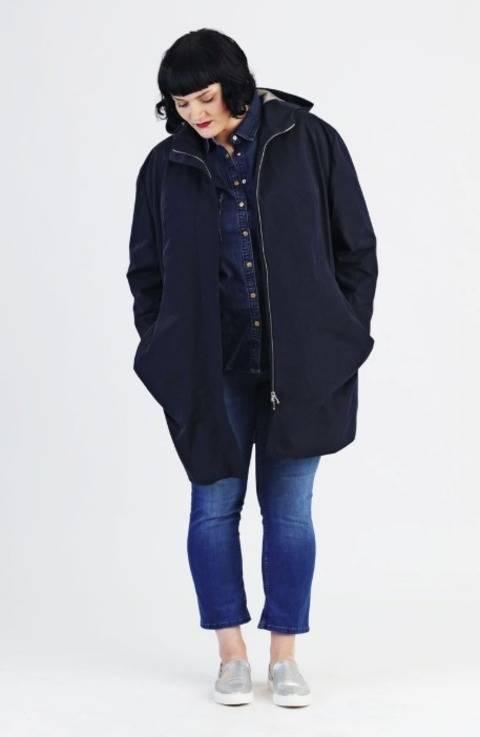 Télécharger Parka Amy Plussize - Patron de couture et instruction avec des images tout de suite sur Makerist