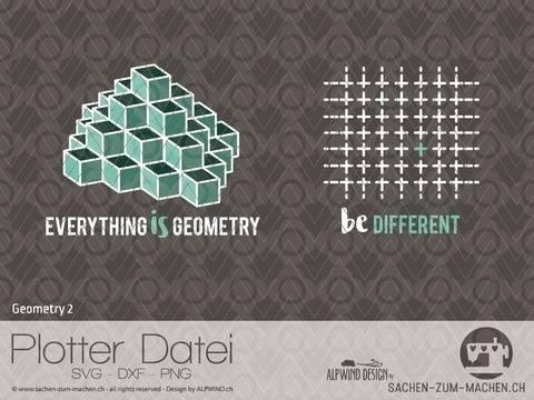 "Plotter-Datei ""Geometry"" #2 bei Makerist sofort runterladen"