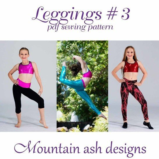 Download Leggings #3 Girls High waisted and Yoga Leggings immediately at Makerist