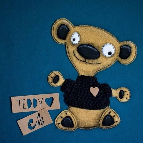 Spooky Teddy - Applikationsvorlage bei Makerist sofort runterladen