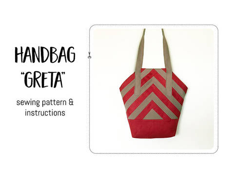 "Download Handbag ""Greta"" immediately at Makerist"