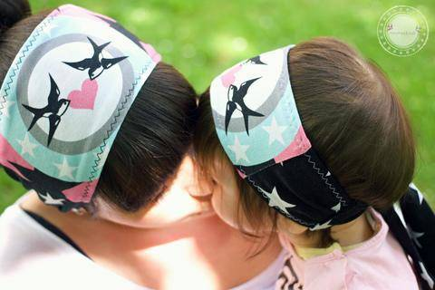 Haarband MAYLANI & MAYLANA bebilderte Nähanleitung und Schnittmuster bei Makerist sofort runterladen
