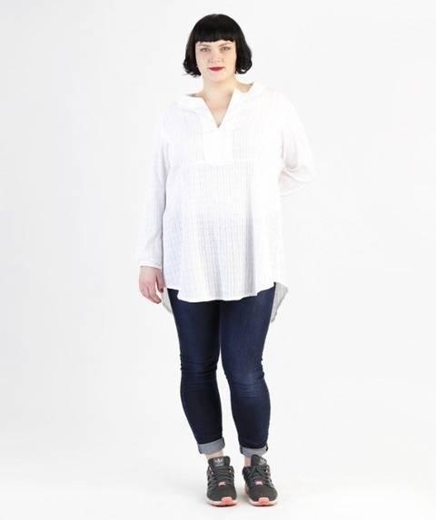 Télécharger Katha tunique pour grandes tailles - Patron de couture et instruction en Allemand et en Anglais avec des images tout de suite sur Makerist