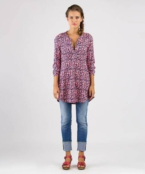 Télécharger Katha tunique - Patron de couture et instruction en Allemand et en Anglais avec des images tout de suite sur Makerist
