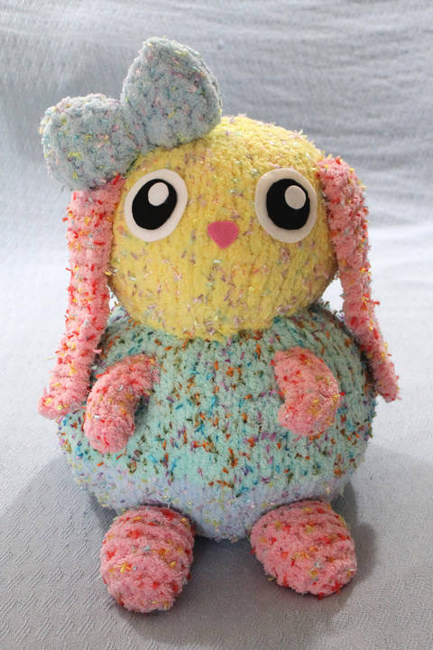 Download Binky The Knitted Bunny - Knitting Pattern immediately at Makerist