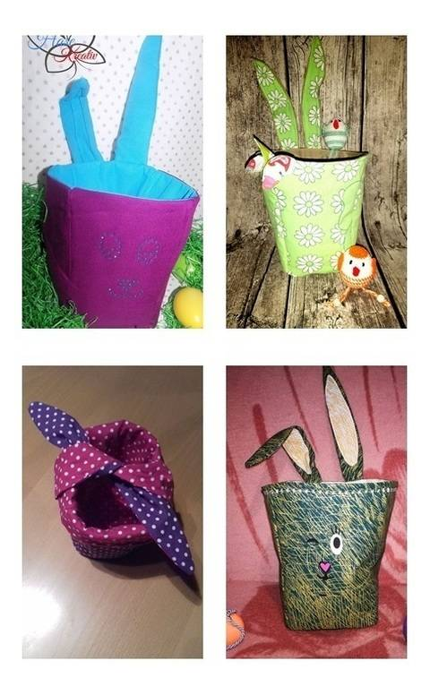 Download Poppi -Popcorn bag, Easter basket or Utensilio immediately at Makerist