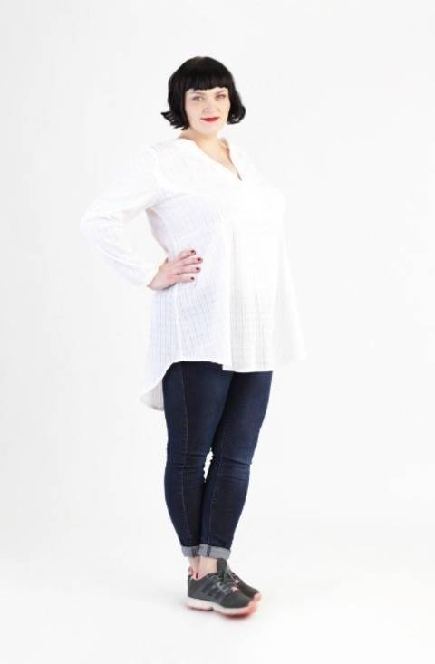 Download Tunic Katha for plus-sizes - Sewing pattern and instruction immediately at Makerist