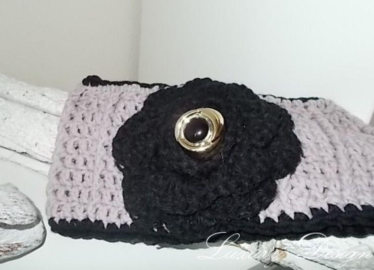 Häkelanleitung Stirnband Luxury Design No.2 - Häkelanleitungen bei Makerist sofort runterladen