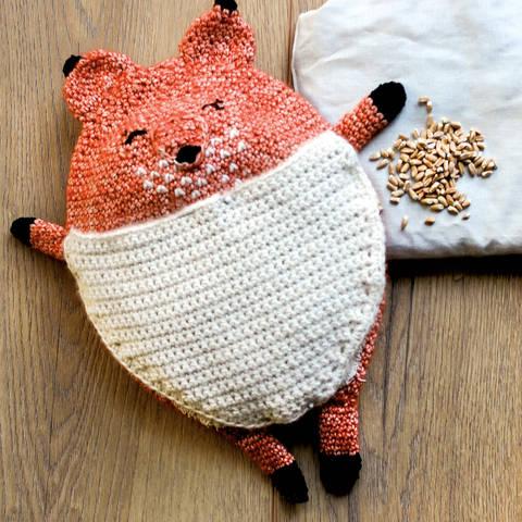 Wärmekissen und Schmusetuch Fuchs Mister Anuki - Häkelanleitung bei Makerist sofort runterladen